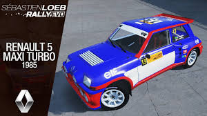 renault 5 rally sébastien loeb rally evo renault 5 maxi turbo 1985 australia