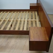 Teak Bed 1960s Danish Teak Double Bed Mark Parrish Mid Century Modern