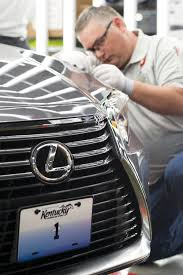 lexus usa ceo the first lexus ever made in the us rolled off the production line