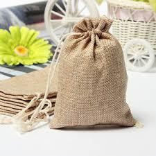 small burlap bags 5pcs faux burlap bags jute hessian drawstring sack small wedding