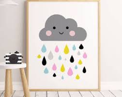 Wall Decor For Kids Room by Cloud Wall Decor Etsy