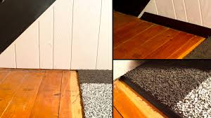 Wood Carpet An Unexpected Pair Wood Molding As Carpet Transitions S Lake Tahoe