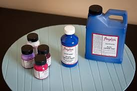 painting synthetic leather with angelus leather paint