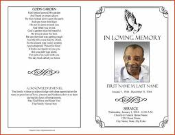 Samples Of Memorial Programs Funeral Service Template Basketball Funeral Program Template