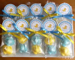 rubber duck baby shower decorations rubber duck soap etsy