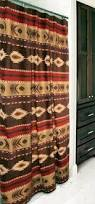 Cowhide Shower Curtain Western Shower Curtain Hollywood Thing
