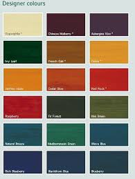 royal exterior wood finish colour chart protek wood stain ronseal