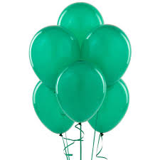 Emerald Emerald Green Latex Balloons Birthdayexpress Com