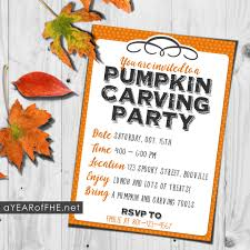 pumpkin invitation how to host a pumpkin carving party a free printable invitation