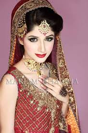 Red Bridal Dress Makeup For Brides Pakifashionpakifashion Interesting Tips About Makeup Looks For Pakistani Bride