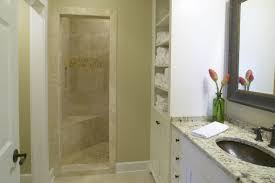 bathroom luxury doorless shower enclosure ideas with sweet corner