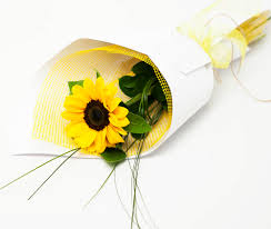 sunflower bouquet delivery single sunflower bouquet to philippines