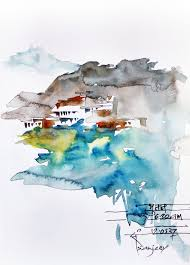 sketching trip to bhutan urban sketchers