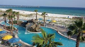 Comfort Inn Ft Walton Beach Outdoor Pool View From Our Balcony Picture Of Holiday Inn