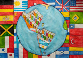 Children S Map Of The World by My World In Its Pages Children Map Their World