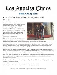 Los Angeles Times Home And Design Los Angeles Times Di Moda Public Relations