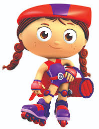 tricycle cartoon characters from super why