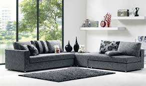 Black Fabric Sectional Sofas Modern Fabric Sectional Sofa Audioequipos