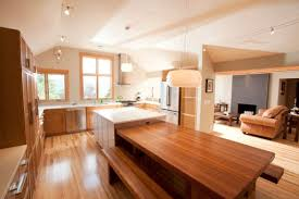 kitchen island breakfast table 30 kitchen islands with tables a simple but clever combo