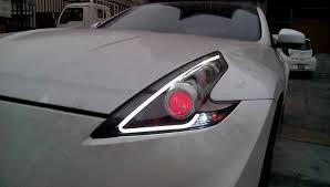 nissan 370z tail lights autosled personalización de faros nissan 370z youtube
