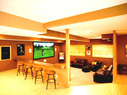 fantastic inexpensive unfinished basement ideas with unfinished