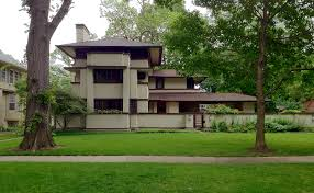 prairie style house frank lloyd wright s oak park illinois designs the prairie