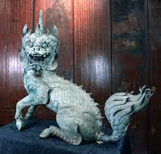 qilin statue unicorns