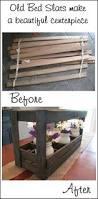 bed frames reclaimed wood platform bed frame antique four poster