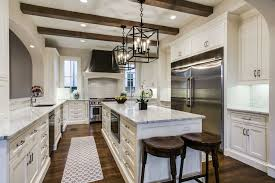48 kitchen island contemporary kitchen with breakfast bar exposed beam in dallas