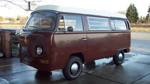 used volkswagen van 1970 volkswagen westfalia camper bus for sale 2 950 youtube