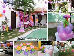 in party supplies pristine cebu cebu balloons in party decoration at fairview
