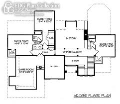 Gothic House Plans Gothic Plan 3939 Edg Plan Collection