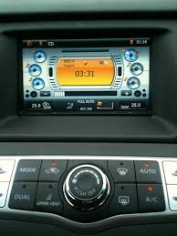 nissan murano aux port replacment screen with gps dvd and blue tooth nissan murano forum