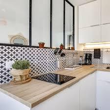 cuisine d appartement cuisine avec verrière côté maison