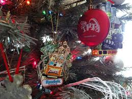 roller coaster ornament tree ornaments theme
