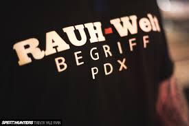 rwb porsche logo under the las vegas lights with rauh welt begriff speedhunters