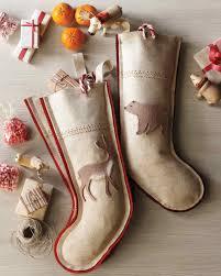 Stocking Designs by Handmade Christmas Stockings Martha Stewart