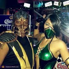 Scorpion Costume Mortal Kombat Jade U0026 Scorpion Costume Photo 2 9
