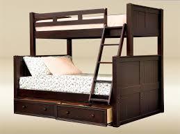 Dillon Twin Over Full Wood Beadboard Bunk Bed - Twin over full wood bunk beds