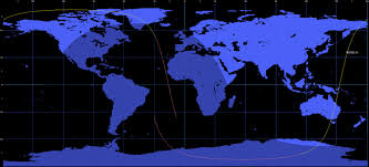Eros Map Re Entry Eros A1 Earth Imaging Satellite U2013 Re Entry