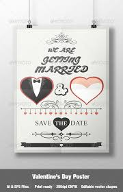 wedding poster template s day wedding poster by sabdesignro graphicriver