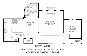 family room floor plans tanglewood the duke home design