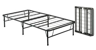 Folding Single Bed Portable Metal Bed Frames Sturdy Sturdy Sets Up In Minutes