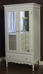 Buy Armoire Celine Armoire With Mirrored Doors By Newport Cottages