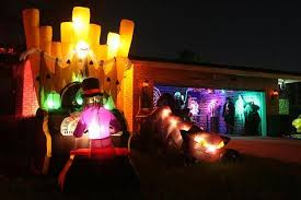 hightechscience org halloween sound light and laser show