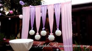 wedding backdrop kl rom wedding decoration rama v thai cuisine kuala lumpur