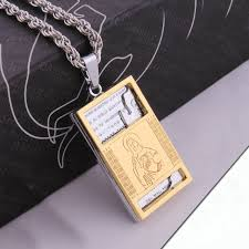 mens engraved necklaces personalized mens necklace mens jewelry sted pendant