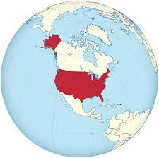us map globe file united states on the globe america centered svg for us