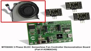 3 phase fan controller mtd6505 3 phase bldc sensorless fan controller demo youtube