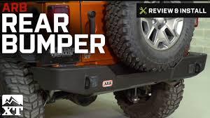 jeep bumper stickers jeep wrangler arb rear bumper 2007 2017 jk review u0026 install